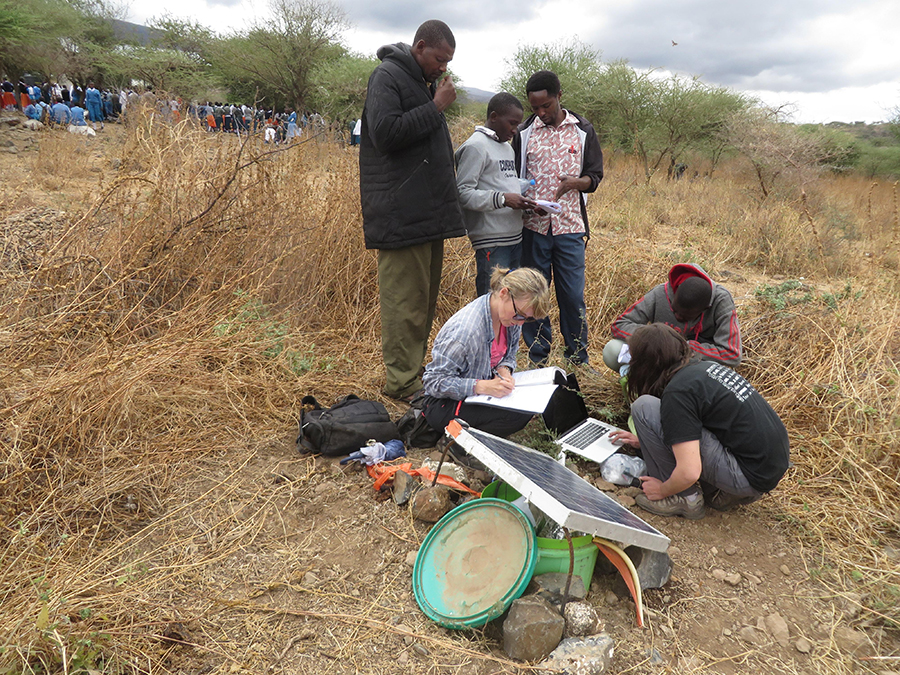 Data recovery from the LN15 seismological station in Tanzania, Lekule Girls' School in Tanzania
